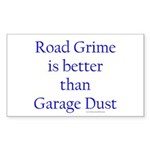 Road Grime Sticker (Rectangle 10 pk)