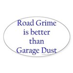 Road Grime Sticker (Oval)