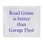Road Grime Throw Blanket