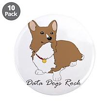 "Cute Data 3.5"" Button (10 pack)"