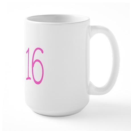 Sweet 16! Large Mug