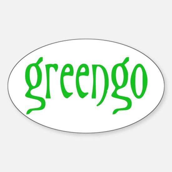 greengo Sticker (Oval)