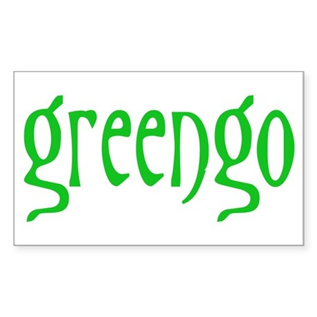 greengo Sticker (Rectangle)