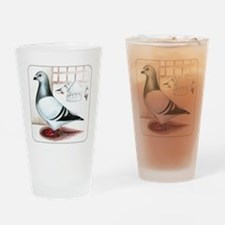 Giant Homer Pigeon Pint Glass