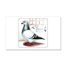 Giant Homer Pigeon Car Magnet 12 x 20