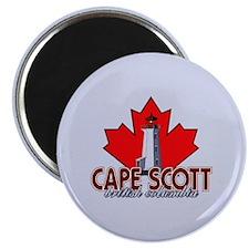 Cape Scott Lighthouse Magnet
