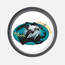 Jaguars Wall Clock