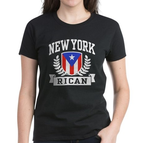 New York Rican Women's Dark T-Shirt