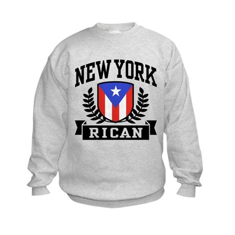 New York Rican Kids Sweatshirt
