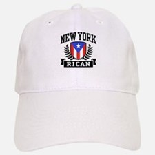 New York Rican Baseball Baseball Cap