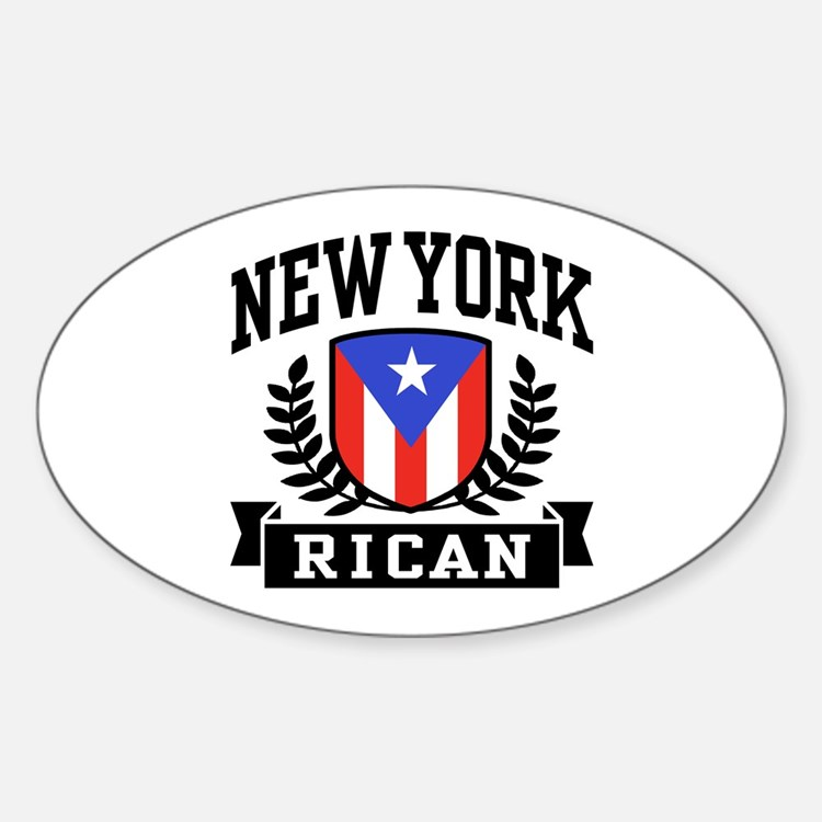 New York Rican Decal