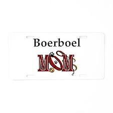 Boerboel Mom Aluminum License Plate