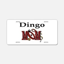 Dingo Dog Mom Aluminum License Plate
