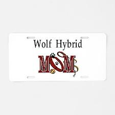 Wolf Hybrid Aluminum License Plate