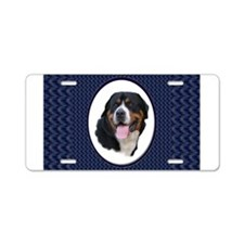 Greater Swiss Mtn Dog Aluminum License Plate