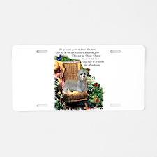 Dandie Dinmont Terrier Aluminum License Plate