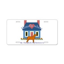 Cute Plott Aluminum License Plate