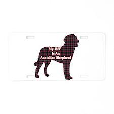 BFF Anatolian Shepherd Aluminum License Plate