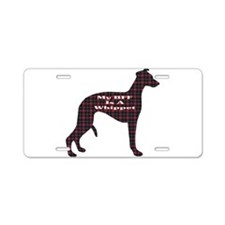 BFF Whippet Aluminum License Plate