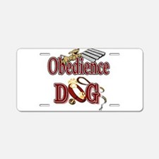 Funny Obedience Aluminum License Plate