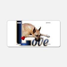 Fawn Great Dane Aluminum License Plate