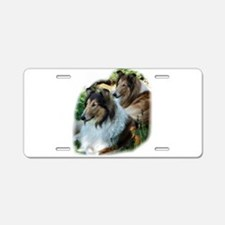 Rough Sable Collies Aluminum License Plate