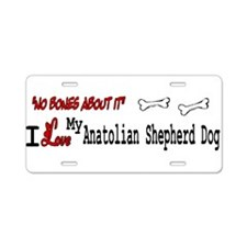 NB_Anatolian Shepherd Dog Aluminum License Plate