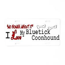 NB_Bluetick Coonhound Aluminum License Plate