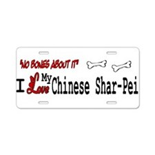 NB_Chinese Shar-Pei Aluminum License Plate