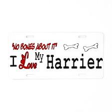 NB_Harrier Aluminum License Plate