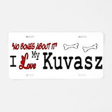 NB_Kuvasz Aluminum License Plate