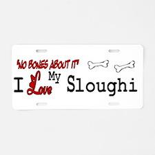 NB_Sloughi Aluminum License Plate