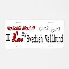 NB_Swedish Vallhund Aluminum License Plate
