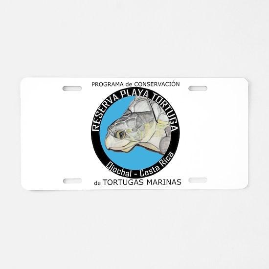 Marine Turtle Program Aluminum License Plate