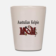 Australian Kelpie Shot Glass