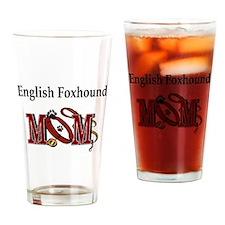 English Foxhound Mom Pint Glass