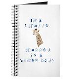 Giraffe Journals & Spiral Notebooks