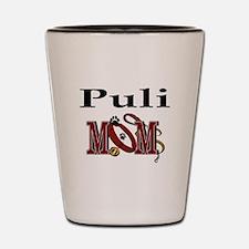Puli Dog Mom Shot Glass