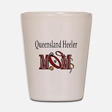 Queensland Heeler Shot Glass