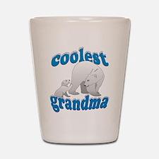 Coolest Grandma Shot Glass