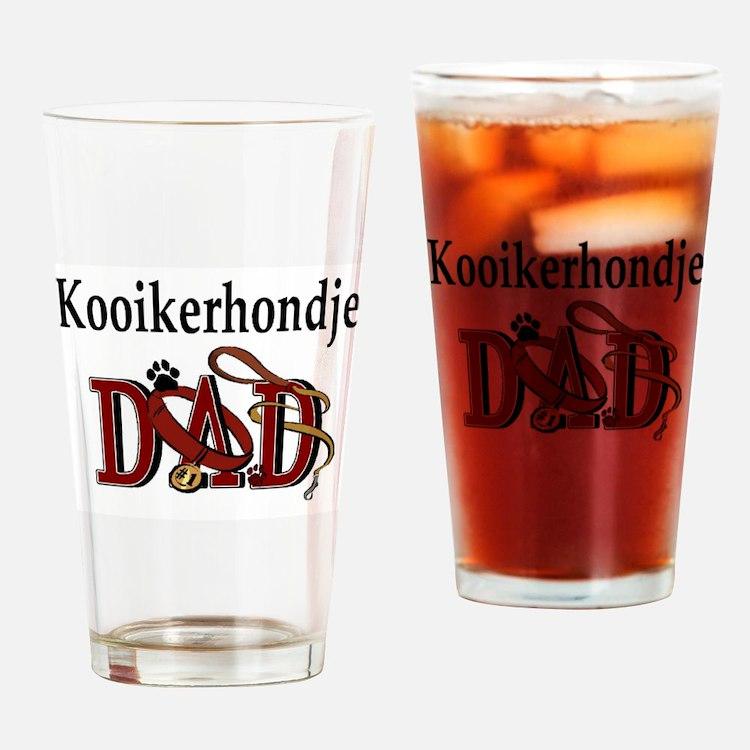 Kooikerhondje Dad Pint Glass
