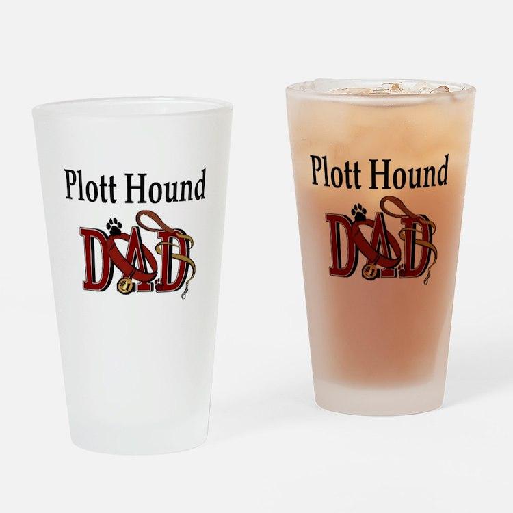 Plott Hound Dad Pint Glass