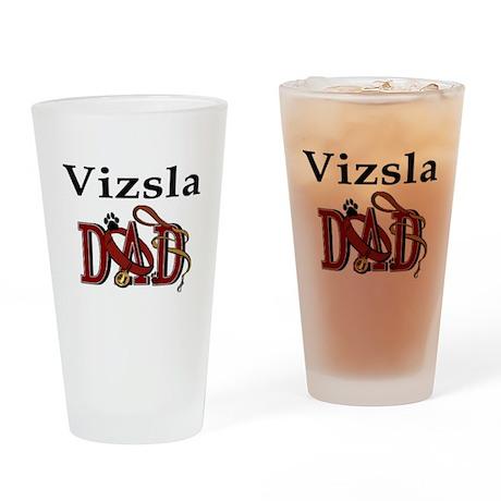 Vizsla Dad Pint Glass