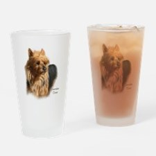 Australian Terrier Art Pint Glass