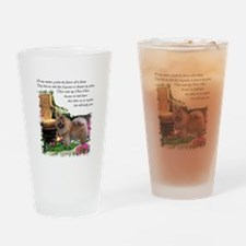 Chow Chow Art Pint Glass