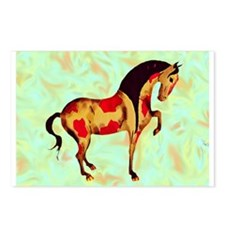 Cute Tang horses Postcards (Package of 8)