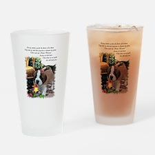 Saint Bernard Puppy Pint Glass