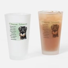Miniature Schnauzer Pint Glass