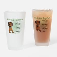 Rhodesian Ridgeback Pint Glass