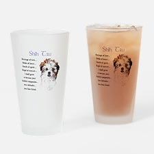 Shih Tzu Pint Glass